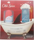 Old Spice Whitewater Gift Set 100ml Aftershave Lotion + 150ml Deodorant Body Spray<br />Mænd