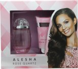Alesha Dixon Alesha Rose Quartz Rose Quartz Gift Set 100ml EDT + 100ml Body Lotion<br />Kvinder
