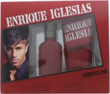 Enrique Iglesias Adrenaline Gift Set 30ml EDT + 200ml Hair and Body Wash<br />Mænd