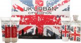 Jigsaw UK Urban City Edition Gift Set 100ml EDT + 100ml Shave Gel + 100ml Aftershave Balm + 100ml Shower Gel + 2 x 20ml Travel Spray<br />Mænd
