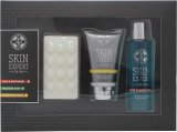 Style & Grace Skin Expert for Him Pamper Pack Gift Set 120ml Aftershave Balm + 120ml Hair & Body Wash + 100g Massage Soap<br />Mænd
