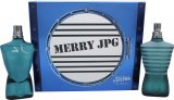 Jean Paul Gaultier Le Male Merry JPG Gift Set 125ml EDT + 125ml Aftershave Lotion<br />Mænd