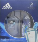 Adidas Adidas Uefa Champions League Edition UEFA Champions League Edition Gift Set 100ml EDT + 250ml Shower Gel<br />Mænd