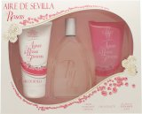 Instituto Español Aire de Sevilla Agua de Rosas Frescas Gift Set 150ml EDT Spray + 150ml Shower Gel + 150ml Body Cream<br />Kvinder