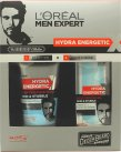 L'Oreal Men Expert Hydra Energetic Barber Shop Gift Set 150ml Face Wash + 50ml Moisturising Gel<br />Mænd