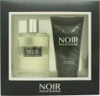 Prism Parfums Noir Pour Homme Gift Set 100ml EDT + 150ml Shower Gel<br />Mænd