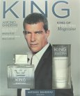 Antonio Banderas King Of Seduction Gift Set 100ml EDT + 100ml A/Shave Balm<br />Mænd
