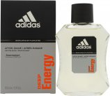 Adidas Deep Energy Aftershave 100ml Splash<br />Mænd