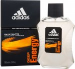 Adidas Deep Energy Eau de Toilette 100ml Spray<br />Mænd