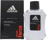 Adidas Team Force Eau de Toilette 100ml Spray<br />Mænd