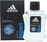 Adidas Fresh Impact Eau de Toilette 100ml Spray<br />Mænd