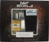 David & Victoria Beckham Classic David Beckham Classic Gift Set 40ml EDT Spray + 200ml Hair & Body Wash<br />Mænd