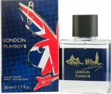 Playboy London Eau de Toilette 50ml Spray<br />Mænd