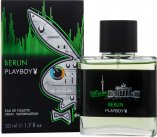 Playboy Berlin Eau De Toilette 50ml Spray<br />Mænd