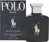 Ralph Lauren Polo Black Eau de Toilette 75ml Spray<br />Mænd