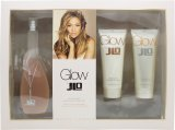 Jennifer Lopez Glow Gift Set 100ml EDT +  75ml Body Lotion + 75ml Shower Gel<br />Kvinder