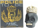 Police To Be The King Eau de Toilette 75ml Spray<br />Mænd