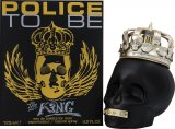 Police To Be The King Eau de Toilette 125ml Spray<br />Mænd
