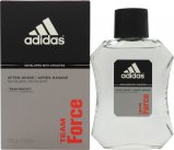 Adidas Team Force Aftershave 100ml Splash<br />Mænd