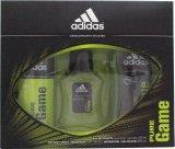 Adidas Pure Game Gift Set 50ml EDT + 150 ml Body Spray + 250ml Shower Gel<br />Mænd