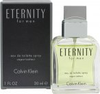 Calvin Klein Eternity Eau de Toilette 30ml Spray<br />Mænd