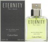 Calvin Klein Eternity Eau de Toilette 100ml Spray<br />Mænd