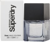 Superdry Steel Eau de Cologne 25ml Spray<br />Mænd