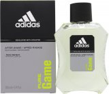 Adidas Pure Game Aftershave 100ml Splash<br />Mænd