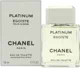 Chanel Egoiste Platinum Eau de Toilette 50ml Spray<br />Mænd