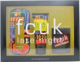 FCUK Late Night Her Gavesæt 100ml EDT + 100ml Body Lotion + Playing Cards<br />Kvinder