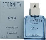 Calvin Klein Eternity Aqua Eau de Toilette 100ml Spray<br />Mænd