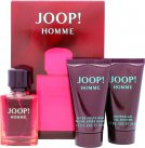 Joop Joop Homme Homme Gavesæt 30ml EDT + 50ml Shower Gel + 50ml After Shave Balm<br />Mænd