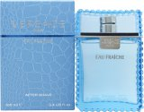 Versace Man Eau Fraiche Aftershave Lotion 100ml Splash<br />Mænd
