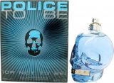 Police To Be Aftershave 125ml Spray<br />Mænd