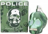 Police To Be Camouflage Eau de Toilette 75ml Spray<br />Mænd