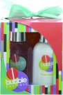 Style & Grace Bubble Boutique Mini Pamper Kit 100ml Body Wash + 100ml Body Lotion + Shower Exfoliator<br />Unisex