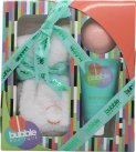 Style & Grace Bubble Boutique Sock Gift Set Pair of Socks (One Size) + 90g Bath Bomb + 70ml Foot Lotion<br />Unisex