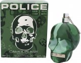 Police To Be Camouflage Eau de Toilette 125ml Spray<br />Mænd