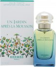 Hermes Un Jardin Apres La Mousson Eau de Toilette 50ml Spray<br />Unisex