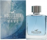 Hollister Hollister Wave For Him Wave For Him Eau de Toilette 100ml Spray<br />Mænd