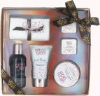 Style & Grace Glitz & Glam Sparkly Does It! Gift Set 80ml Body Wash + 60ml Body Butter + 120ml Body Polish + 2 x 35g Bath Fizzers + Face Towel<br />Unisex