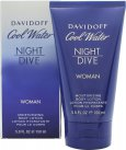 Davidoff Cool Water Night Dive Woman Cool Water Women Night Dive Body Lotion 150ml<br />Kvinder