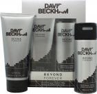 David & Victoria Beckham Beyond Forever Gift Set 200ml Shower Gel + 150ml Deodorant Spray<br />Mænd