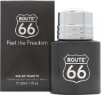 Route 66 Feel The Freedom Eau de Toilette 50ml spray<br />Mænd