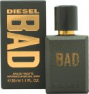 Diesel Bad Eau de Toilette 35ml Spray<br />Mænd