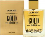 Calum Best Gold Eau de Cologne 100ml Spray<br />Mænd
