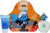 Smølferne Kloge Smølf (Brainy) The Smurfs Brainy Gift Set 50ml EDT + 75ml Shower Gel<br />Mænd