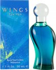 Giorgio Beverly Hills Wings for Men Eau De Toilette 50ml Spray<br />Mænd