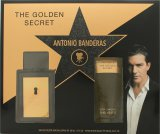Antonio Banderas The Golden Secret Gift Set 50ml EDT + 100ml A/Shave Balm<br />Mænd