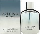 Ermenegildo Zegna Z Zegna New York Eau de Toilette 50ml Spray<br />Mænd